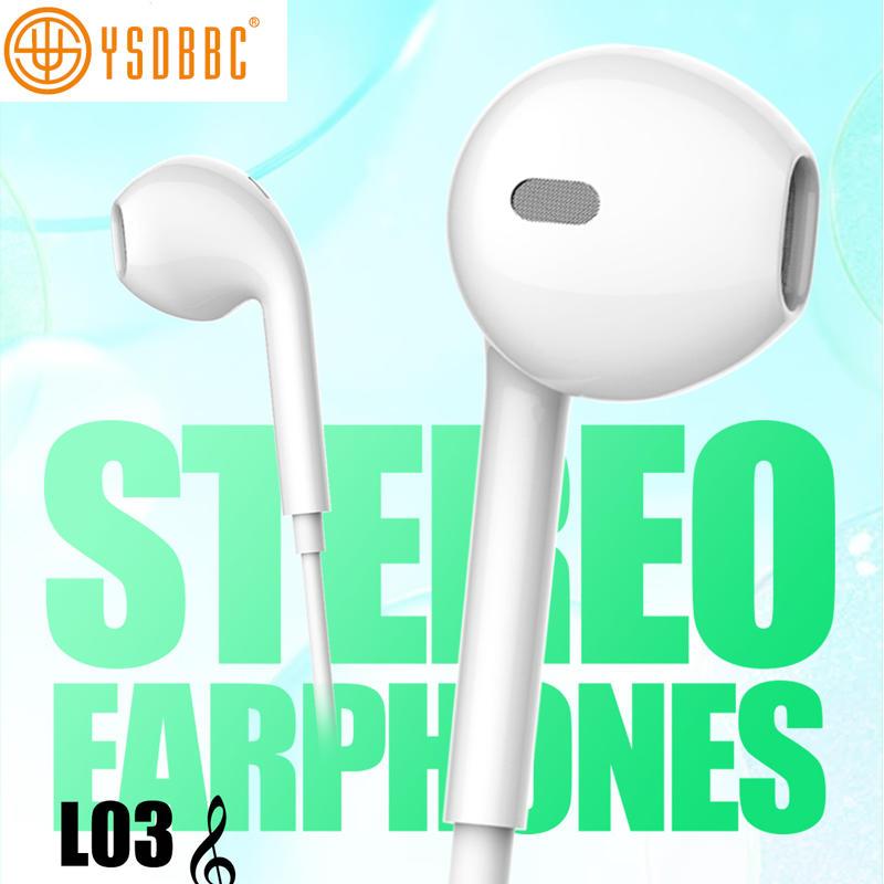 Colorful J5 Earphones with retail package box for Samsung S6 J5 Earphone in-ear Headphones