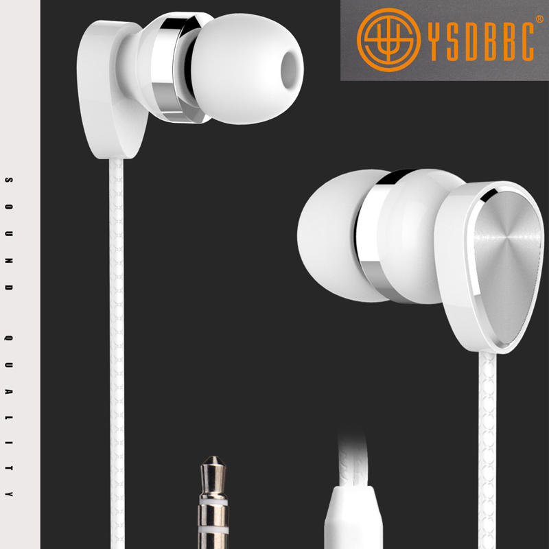 ErgoFit Earbud Headphones with Microphone and Call Controller Compatible with iPhone Android and Blackberry
