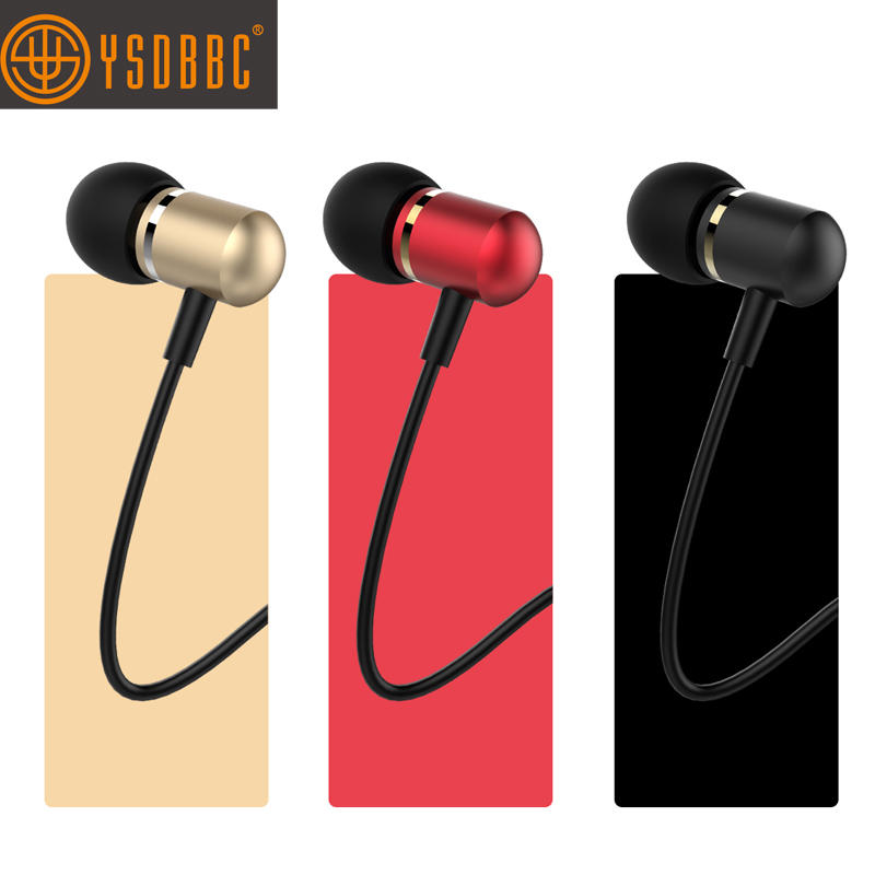 Metal Earphones Noise Isolating in Ear Headphones, Powerful Bass Sound High Definition Pure Audio Earphones for iPhone iPod iPad MP3 Players Samsung Smartphones and Tablets