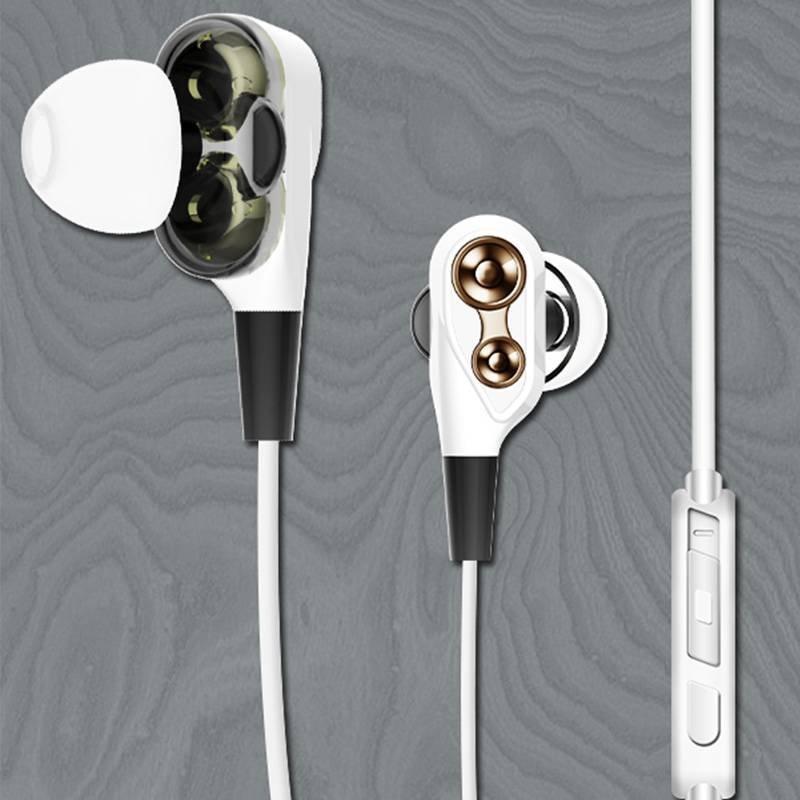 ROVSKI double speaker in-ear wired earphone 601