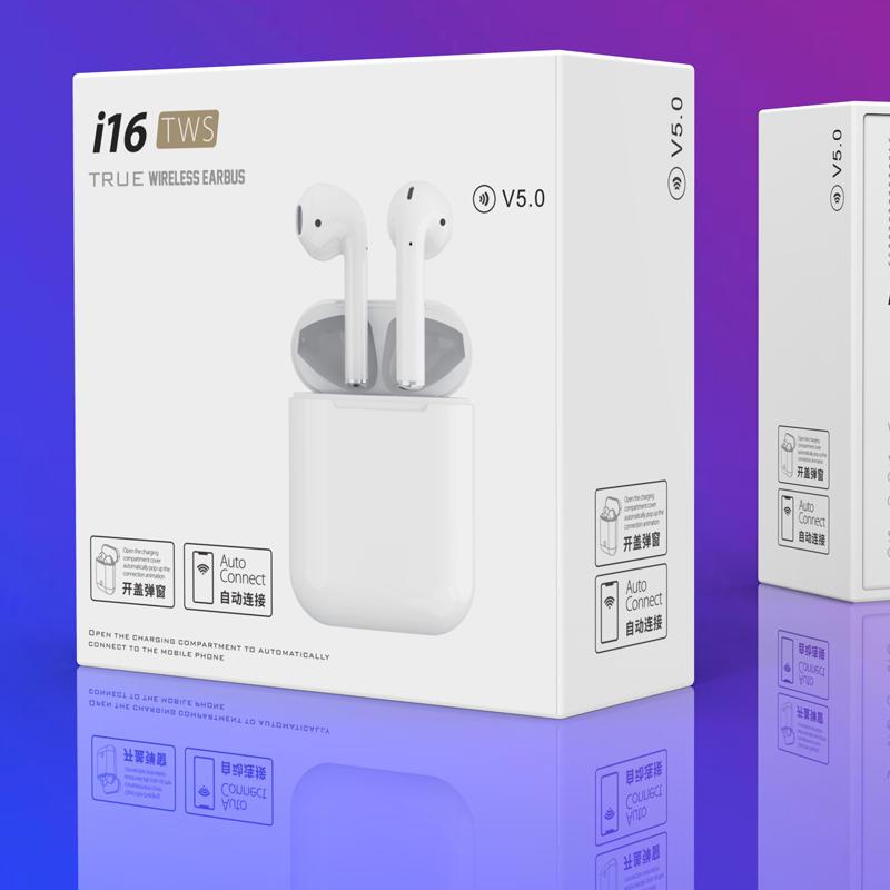 i7/i7s tws /i8//i9/i9s earphone Mini TWS I16 In Ear BT Earphone wireless Headphone hifi Twins True Wireless Earbuds