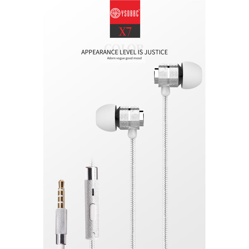 Noise Cancelling Handfree Wired Earphones Magnetic Headphones J5 Earphone For SAMSUNG GALAXY J5 Earbuds