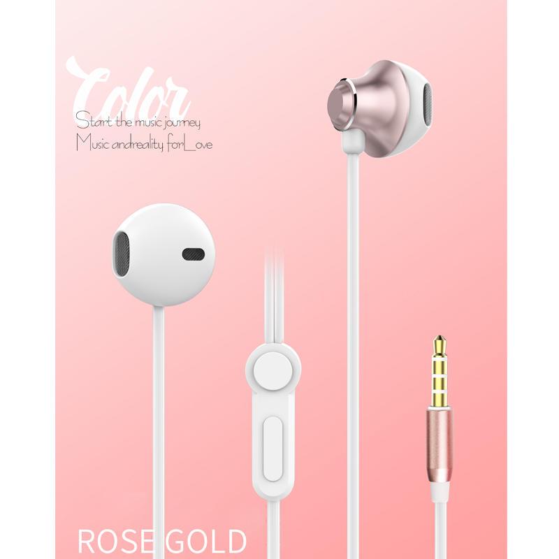 Hot Sales Earphones are suitable for Samsung new S6 headphones S4, S8 smart phone headphones, phone line control headphones