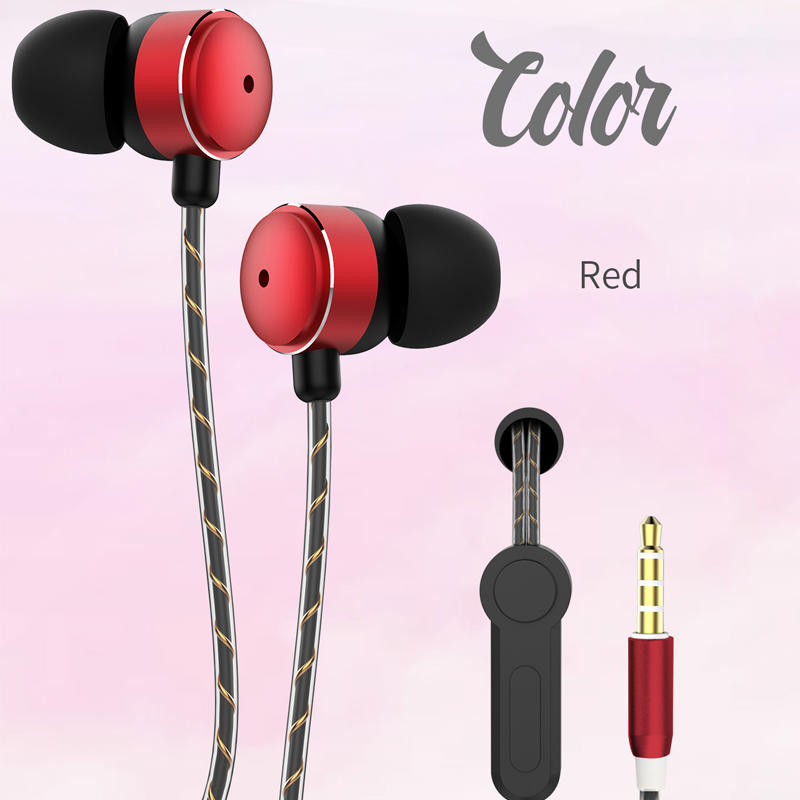 Noise Cancelling Handfree Wired Earphones J5 Earphone For SAMSUNG GALAXY J5 Earbuds