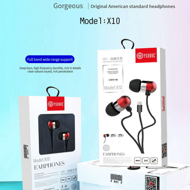3.5mm Earbuds Ear Buds in Ear Headphones Wired Earphones with Mic Stereo and Volume Control Waterproof Metal Wired Earphone Compatible with Smartphone, MP3/MP4 Player and Tablet