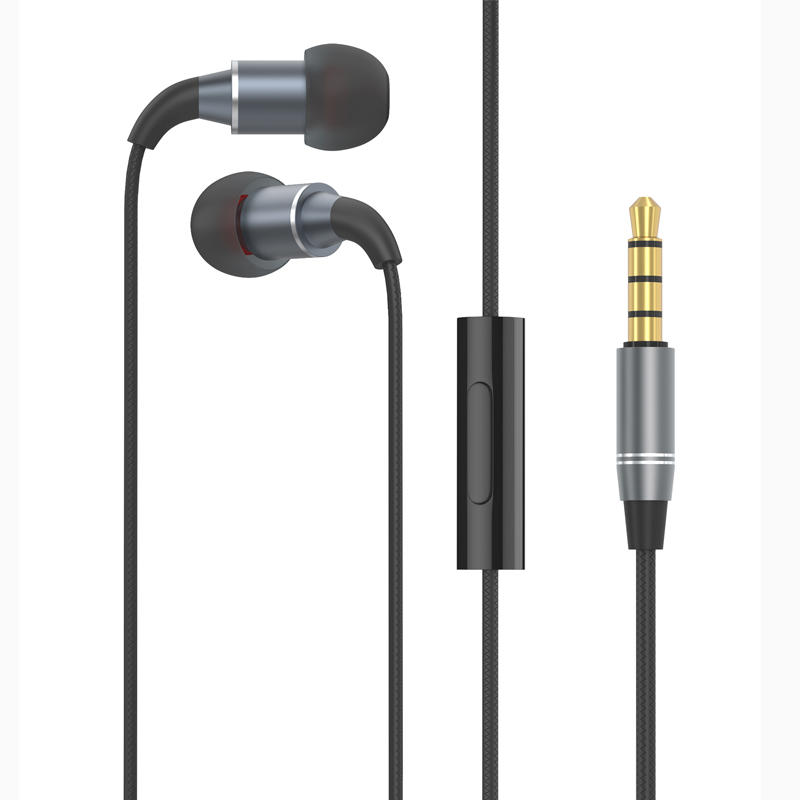 Long Cord Headphones for TV PC, 12ft / 3.6m Extension Cable Earbuds Earphones, 3.5mm Audio Output, Metal Stereo In-ear Wired Bass Headset with Spring Coil Wire