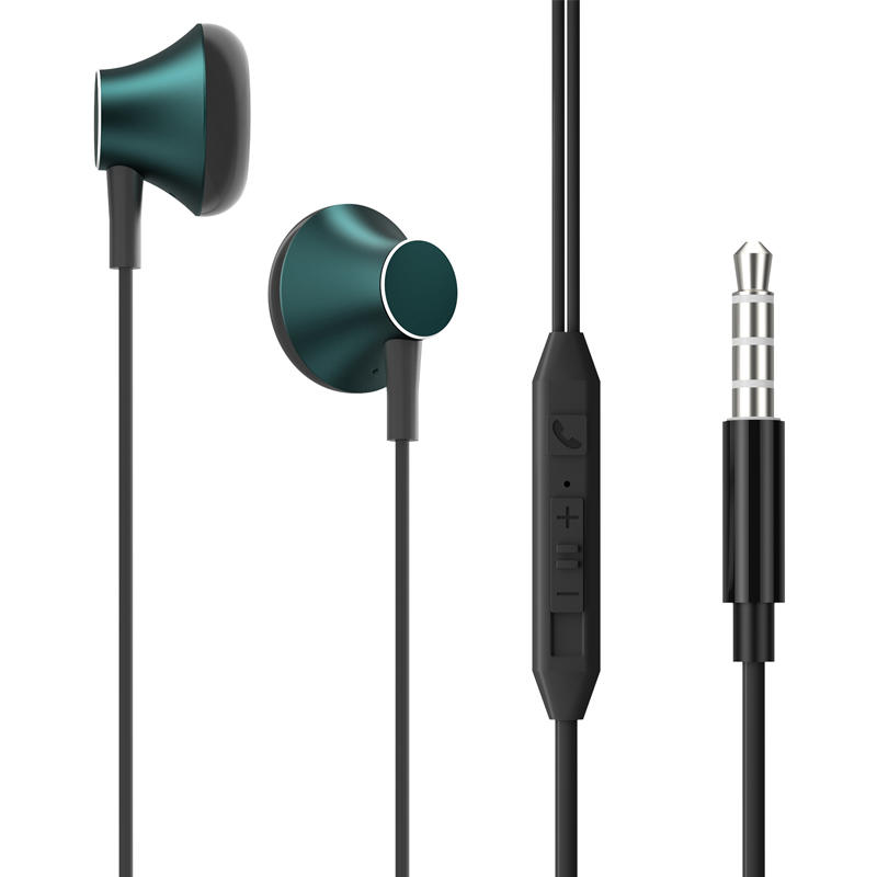 Heavy bass Earphone Color Call with Mic Stereo Earbud Headphones Mixed Colors