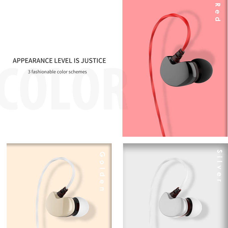 Pro Wired Earbuds Headphones with Mic Powerful Bass  Lightweight Hi-Res Audio Comfort Fit