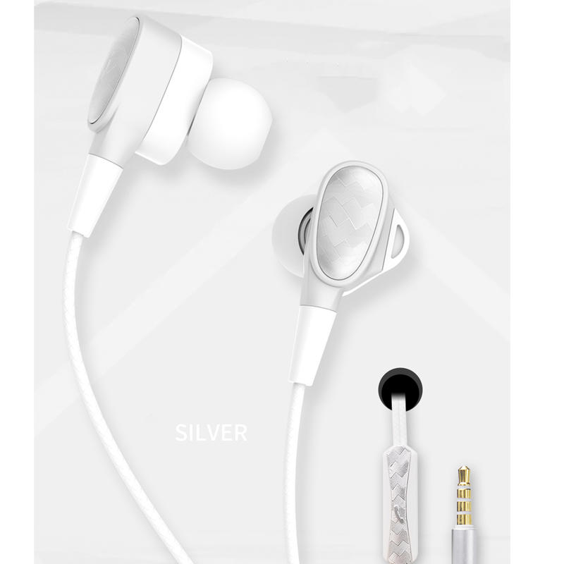 Headphones/Earphones/Earbuds with Mic,Android Earphone Noise Isolating with Volume Control 3.5MM Headphone