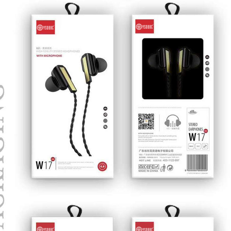 Earphone, Noise Isolating Earbuds, Portable in Ear Headphones, Bass Driven Sound for iPhone, iPad, iPod, MP3 Players, Samsung, Tablets